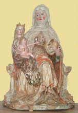 Szent Anna ölében Szűz Máriával és Jézussal