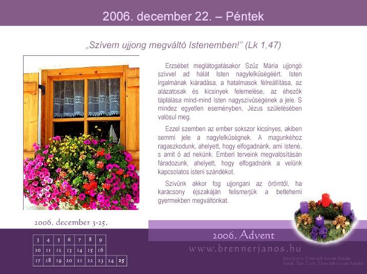 adventi naptár pps Adventi kalendárumok az interneten adventi naptár pps