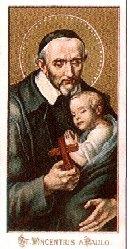 Páli Szent Vince, akiről a rendet elnevezték