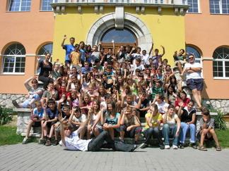 A péliföldszentkereszti ifjúsági központban